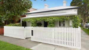 House that has had roof restoration in Prahran