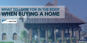 Checklist in choosing home with quality roof